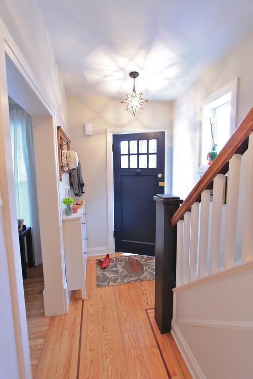Home Organizing Ideas A Narrow Entry