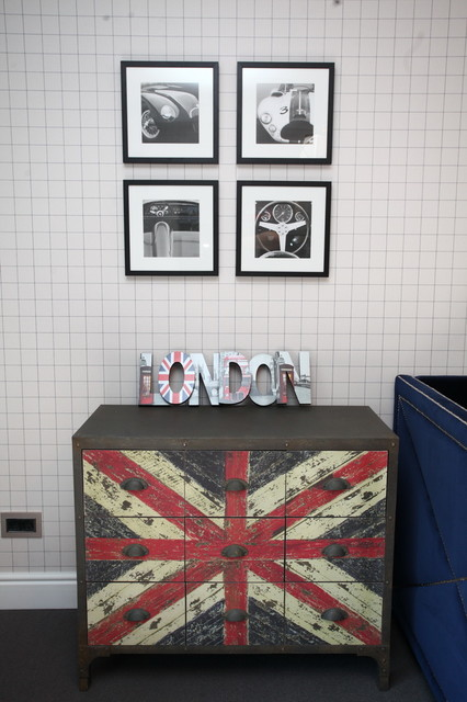 London Themed Kids Room  Contemporary  Kids  other metro  by Ioana Mezei