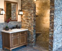 The Copper Rust Slate Collection - Rustic - Bathroom ...