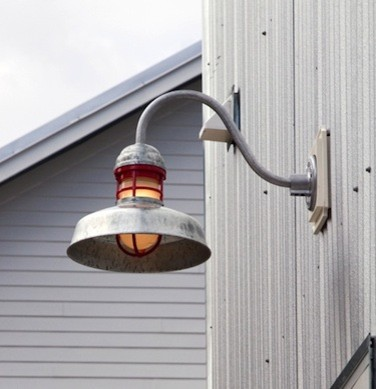 Outdoor Gooseneck Barn Light Fixtures