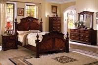 Furniture of America Westin Traditional 4-piece Dark ...