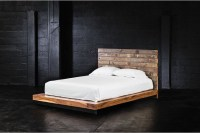 Grant Reclaimed Wood California King Platform Bed ...