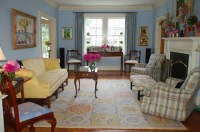 Southern Homes - Traditional - Living Room - other metro ...