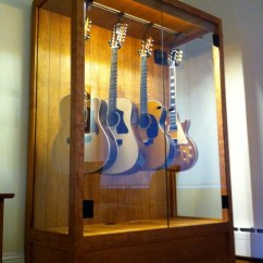 Living Rooms With Blue And Brown Room Carpets Humidified Guitar Cabinet - Contemporary New York By ...