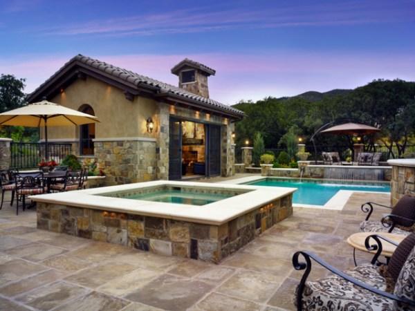 ferdian beuh tuscan style backyard