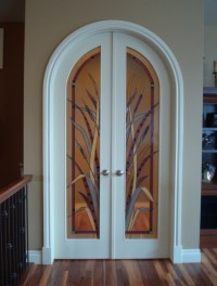 Interior Door: Decorative Glass Interior Doors