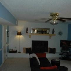 Affordable Kitchen Knives Commercial Floor Coverings Remodel Of 1970 Split Level - Traditional Living Room ...