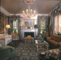 Updated 1930's Home - Traditional - Living Room - other ...