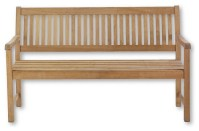 """59"""" Traditional Teak Bench - Traditional - Outdoor Benches ..."""