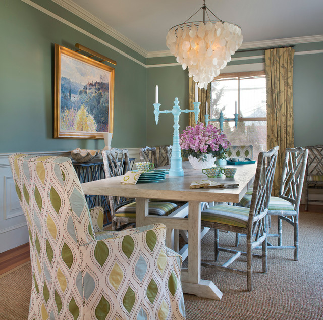 east side home  Eclectic  Dining Room  providence  by
