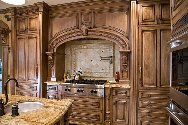 kitchen cabinets newark nj work tables tuscan design - traditional ...