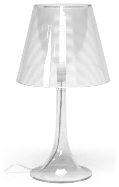 sears kitchen remodeling mico faucets baxton simpla clear acrylic modern table lamp - ...