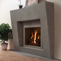 Palermo Stone Fireplace Mantel - Contemporary - Indoor ...