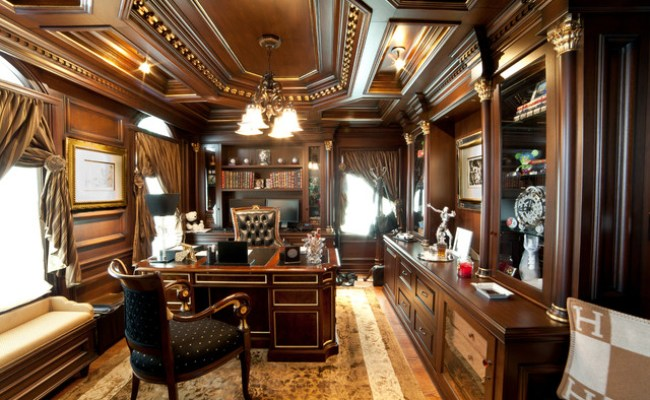Elegant Home Office Traditional Home Office Other