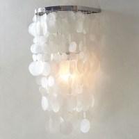 Capiz Sconce - Modern - Wall Sconces - by West Elm