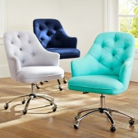 Tufted Desk Chair - Contemporary - Office Chairs - by PBteen
