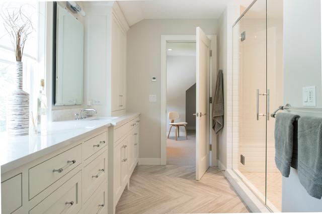 Modern Cape Cod  Beach Style  Bathroom  minneapolis  by Andrea Swan  Swan Architecture
