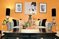 Vintage Glam Living and Dining Room - Eclectic - Living ...