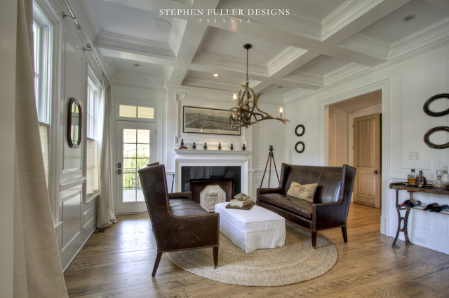 A Classic American House In North Atlanta Traditional
