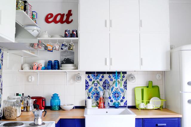 eclectic kitchen by Kootut murut
