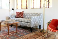 Ikat Loveseat