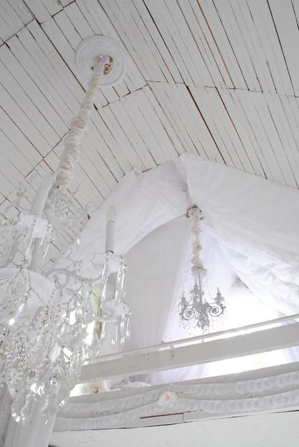 Loft traditional bedroom