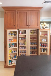 Interior of large pantry cabinet - Eclectic - Kitchen ...