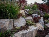 Boulder Retaining Wall - Sellwood - Traditional ...
