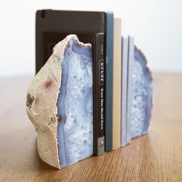Large Agate Bookends - Contemporary - Bookends - other ...
