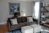 Living Room/Home Office - West Newbury - Contemporary ...