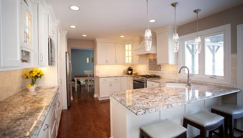pictures of granite kitchen countertops and backsplashes sprayer hose blue flower | countertops, slabs