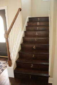 our entryway staircase - Traditional - Staircase - other metro