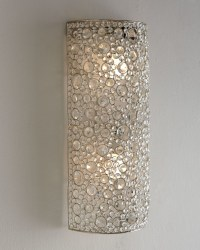 "Four Hands ""Scattered Crystal"" Sconce - Wall Sconces - by ..."
