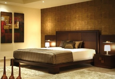 Bedroom Wall Decor Modern Contemporary Elegant Bedroom