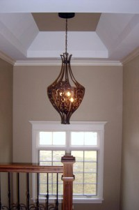 Staircase Light Fixture - Traditional - Hall - chicago ...