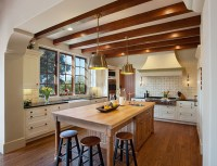 Hope Ranch Spanish Style Custom Home Kitchen ...