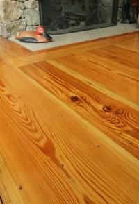 Reclaimed Rustic Heart Pine Flooring - Rustic - Living ...