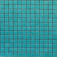 Turquoise Vitreous Mosaic Tile - Contemporary - Tile - by ...