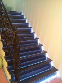 LED Strip Installations - Traditional - Staircase - los ...