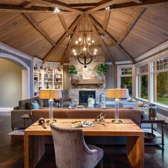 Elegant Living Rooms With Fireplaces Wooden Room Set Designs Rustic Elegance - Transitional Other Metro ...