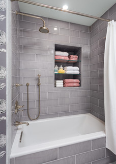 Girls Bathroom  Transitional  Bathroom  los angeles  by Robert Frank Design
