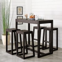 Alto Bar Table - Modern - Indoor Pub And Bistro Tables ...