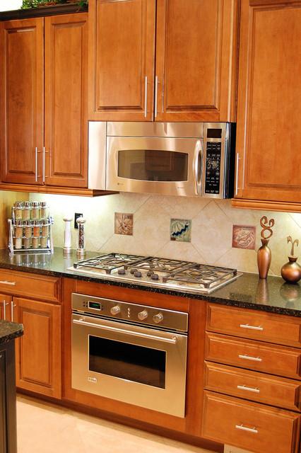 Decorative Ceramic Tiles  Contemporary  Kitchen  New