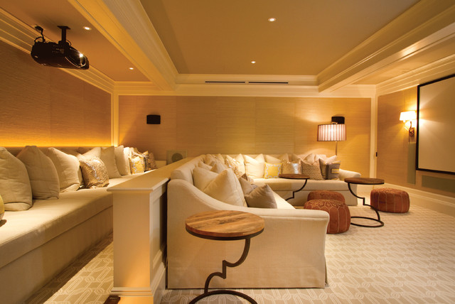 2012 CotY Award-Winning Interiors contemporary media room