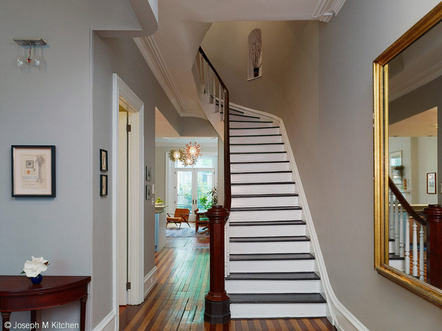 Center City Brownstone Renovation  Traditional  Entry