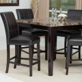 Palazzo 5 piece counter height dining set contemporary dining tables