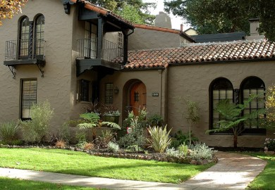 Exterior Paint Schemes For Brown Roofs