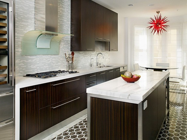 Kitchen Tile Design  Modern  Kitchen  Los Angeles By