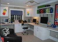 Home Office Playroom Combo | Joy Studio Design Gallery ...