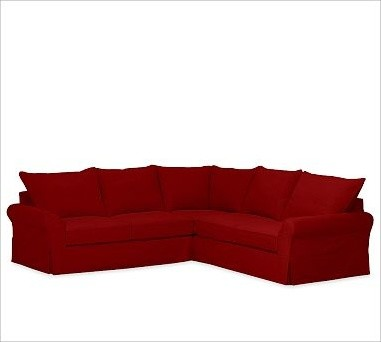 sierra red living room sectional ideas with brown leather pb comfort roll-arm 3-piece l shaped slipcovers ...
